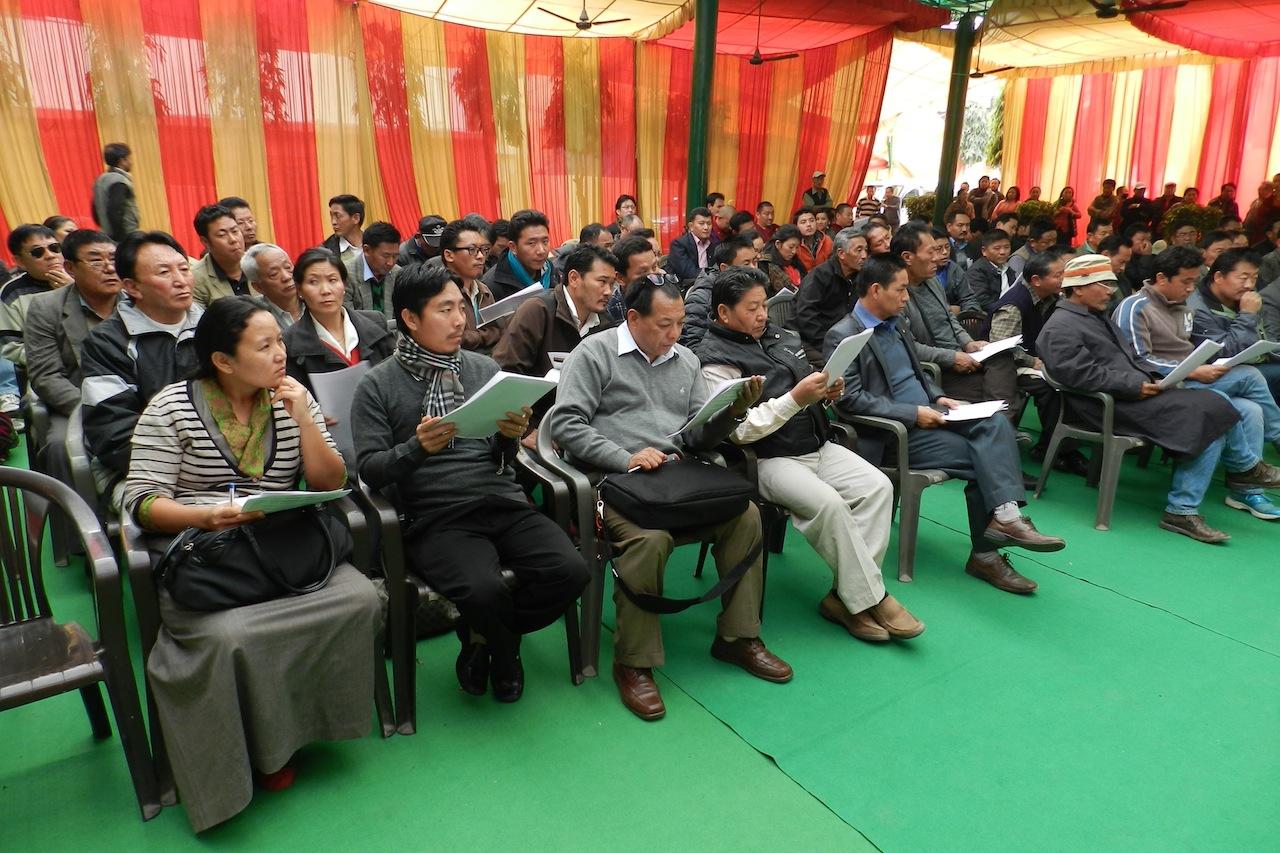 Orientation program held for Tibetans at the Majnu Tilla tibetan settlement