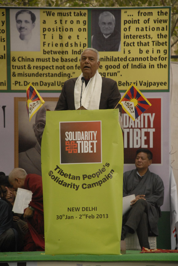Shri Yashwant Sinha at the event